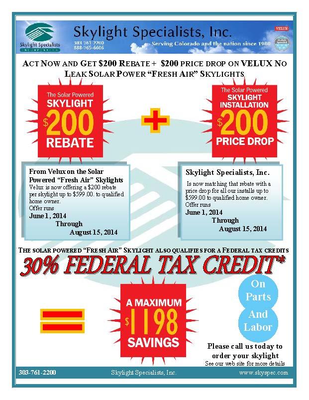 Old Rebate Flyer
