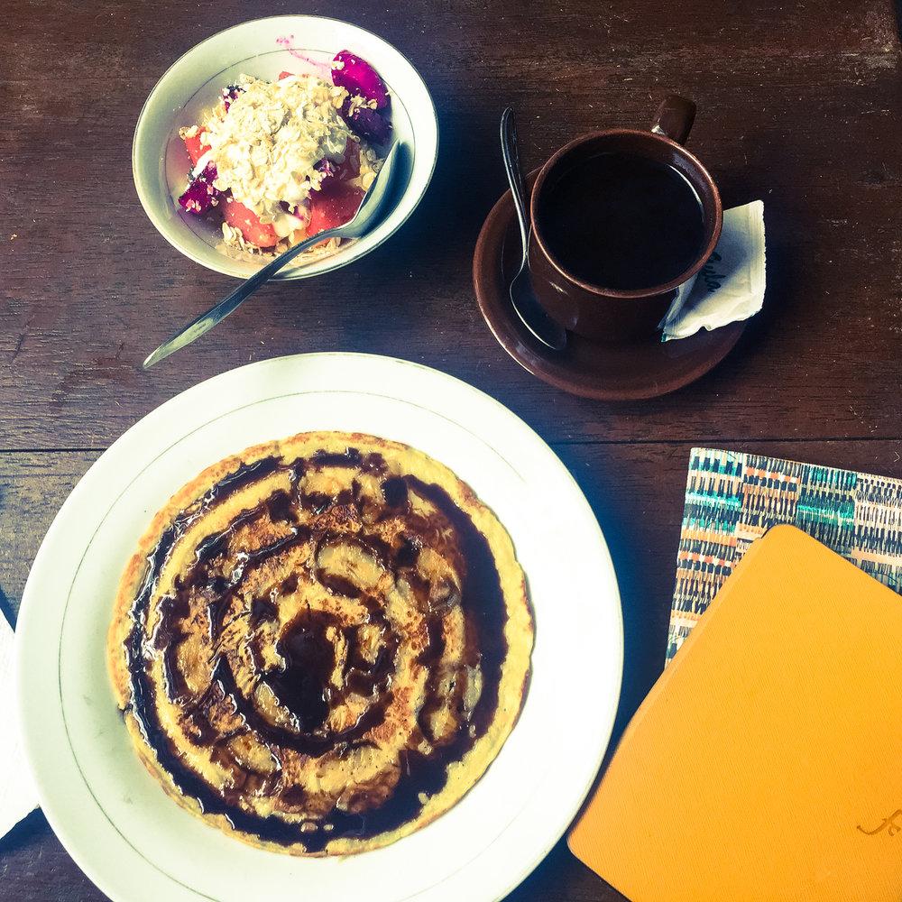 Breakfast at Bale Kampung