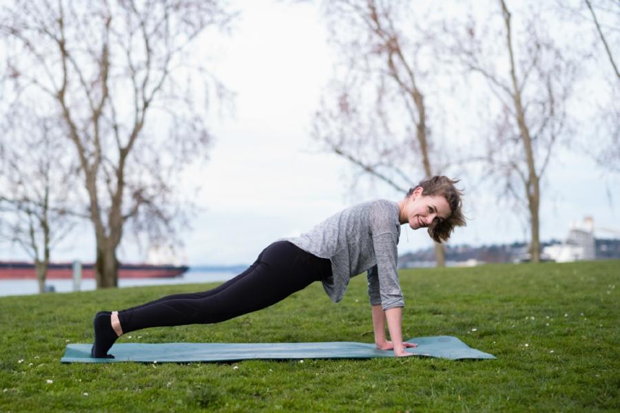 Yoga at Sculpture Park. 24mm Summilux @ 1.4