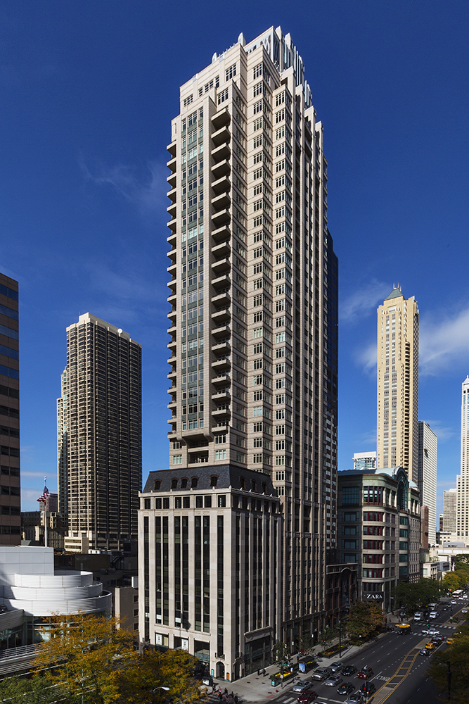 Ritz Carlton Residences    118 East Erie Street  Chicago, Illinois