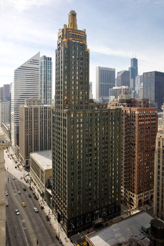 Carbide & Carbon Building   230 North Michigan Avenue  Chicago, Illinois    More information