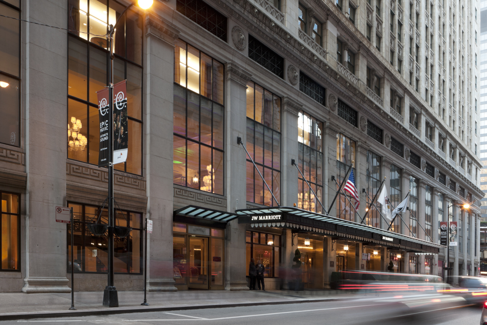 JW Marriott Hotel Chicago   151 West Adams Street  Chicago, Illinois    More information