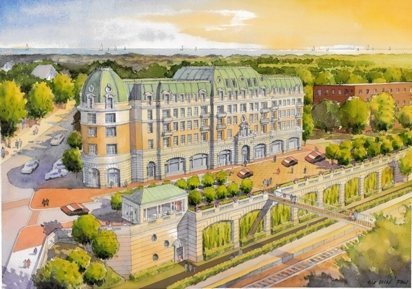 Pictured: rendering of One Winnetka, view more project photos here and project information here