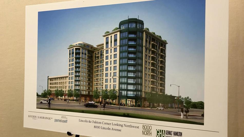Pictured: rendering of 8000 North, view more project photos  here  and project information  here