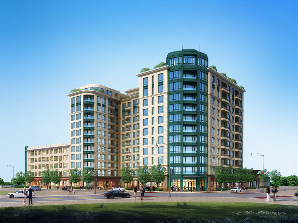 May 10 - Twelve-story Lagrange-designed rental development headed to suburban Skokie