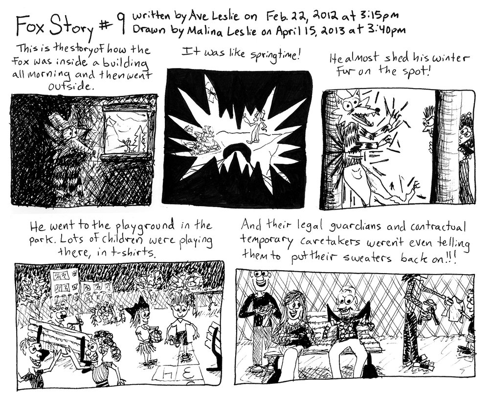 Fox Story 9 Part 1