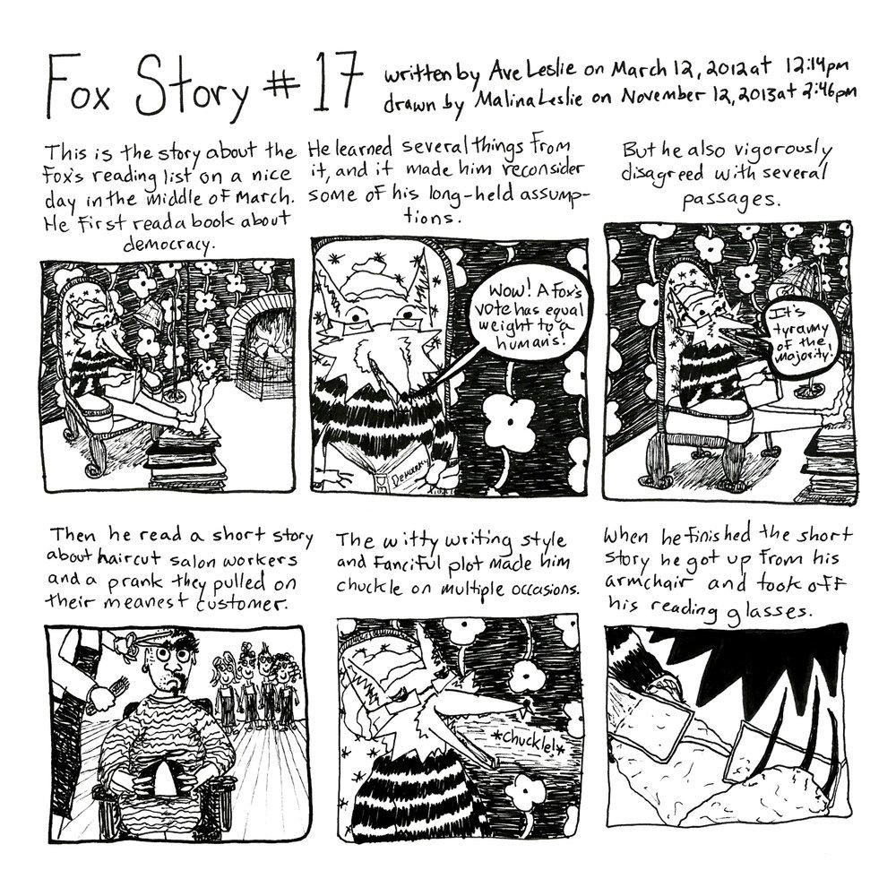 Fox Story 17 Part 1