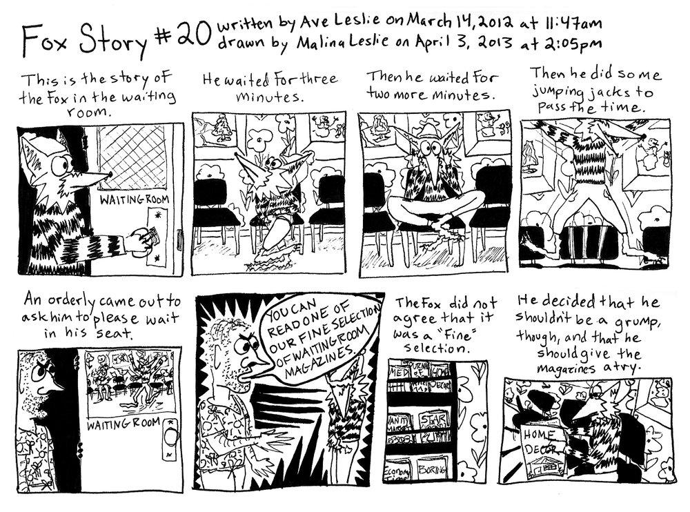 Fox Story 20 Part 1
