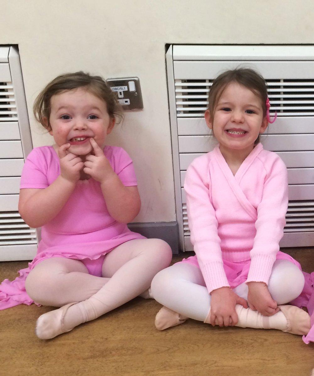 Pre-School Ballet dancers