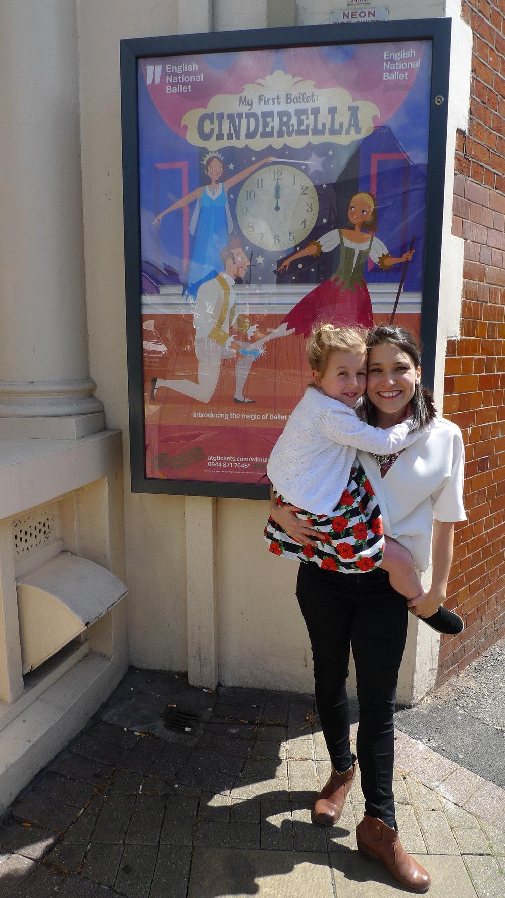 Miss Natasha and Rosey - smiles all around!