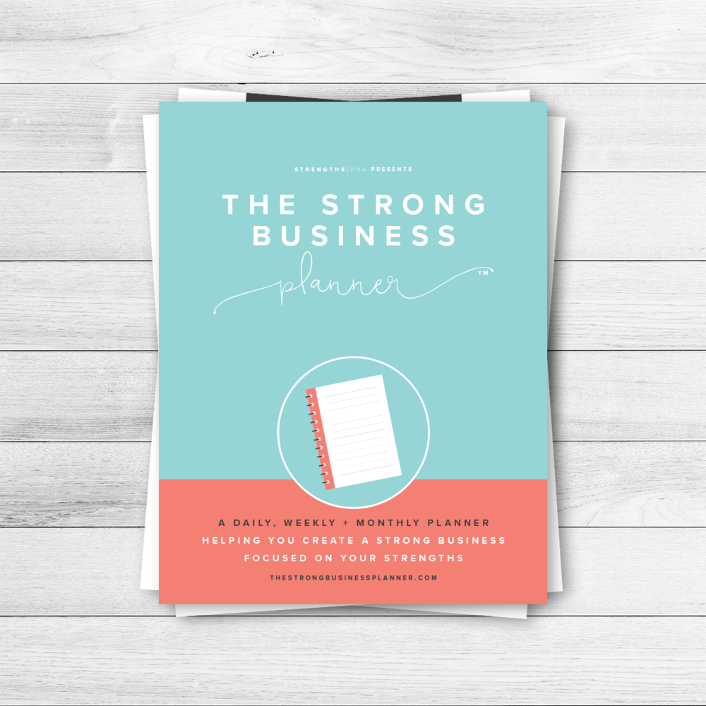 The Strong Business Planner - Bundles - http://thestrongbusinessplanner.com/bundles