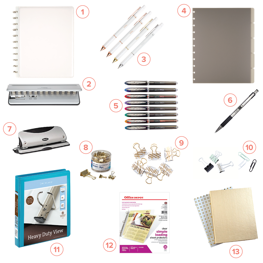 ... Your Own Planner With Whatever Binder And Accessories You Love And  Include All (or Some) Of The Planner Pages You Like. The Possibilities Are  Endless, ...