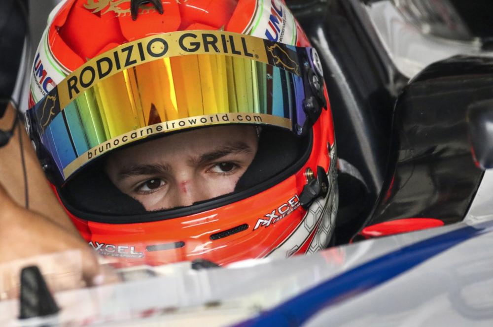 Bruno Carneiro. 2016 FIA F4 Chinese Championship in Chengdu China
