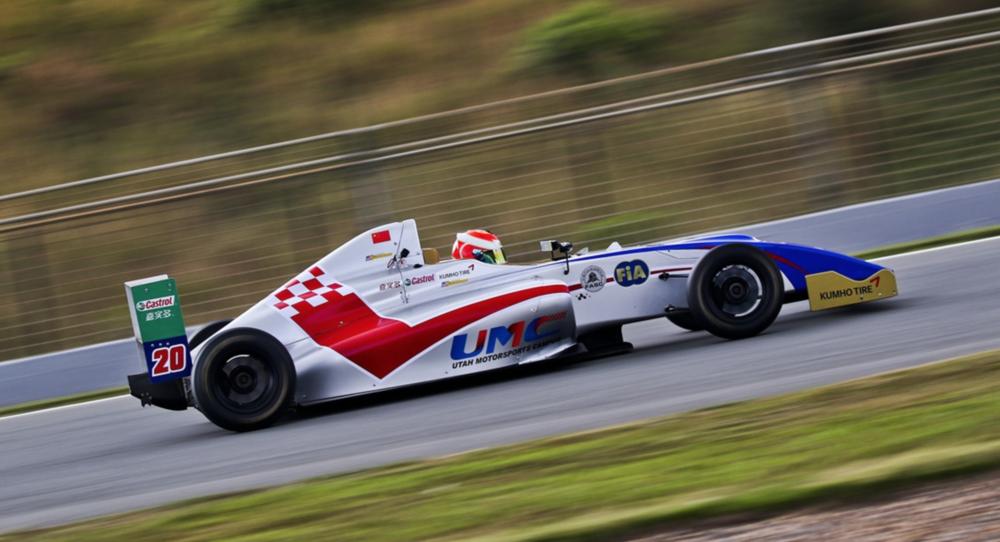 Bruno Carneiro 2015 FIA F4 Chinese Championship, Zhuhai China (Nov.2015) Photo by CFGP