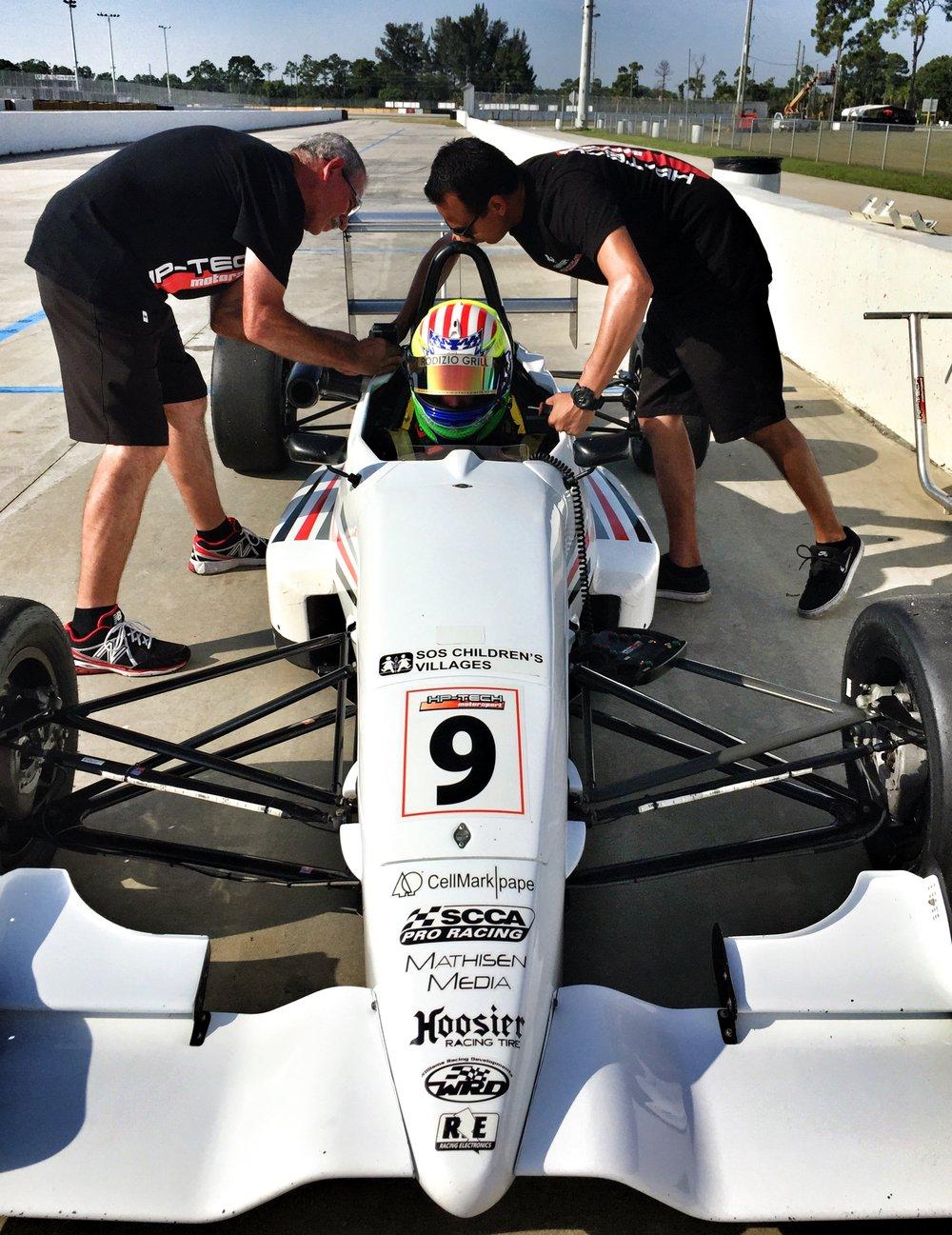 Bruno Carneiro tests HP-Tech F2000 (Jul.2015)