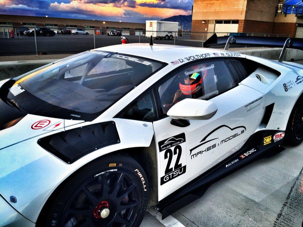 Bruno Carneiro drives the Makes & Models Lamborghini Super Trofeo( May 2016)