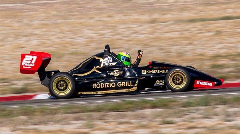 Bruno Carneiro celebrates clinching the 2015 Nasa Utah Pro Championship