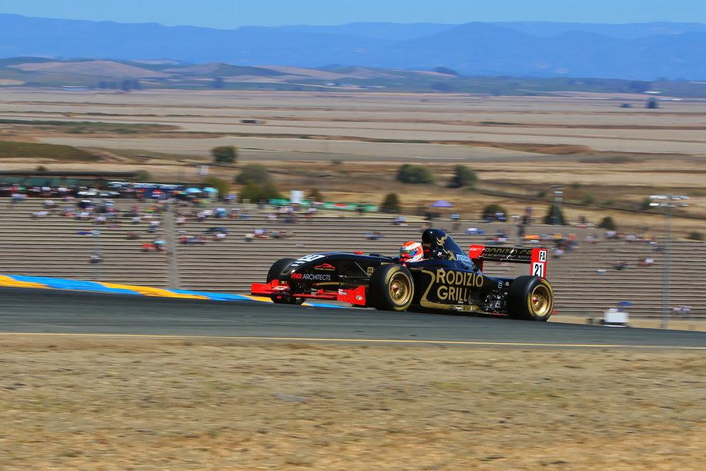 Bruno Carneiro at Sonoma Raceway (Sep.2016) Photo by Michael Wells