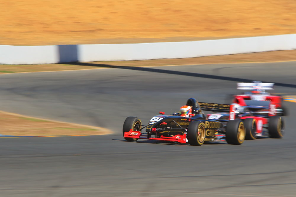 Bruno Carneiro during Sunday's race at Sonoma Raceway (Sep.2016) Photo by Michael Wells