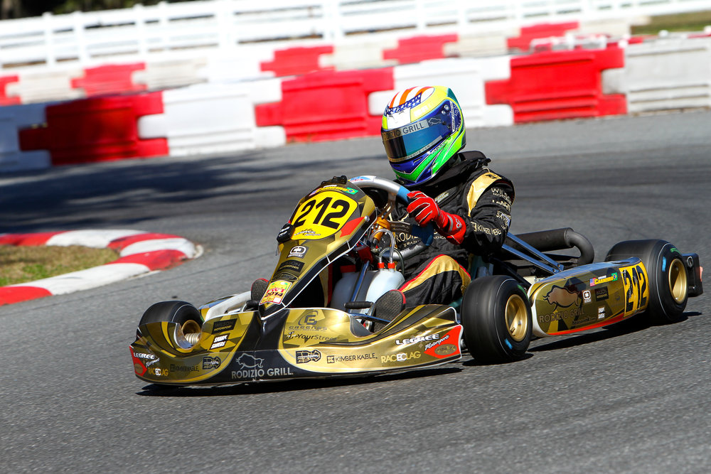 Bruno Carneiro. 2014 Rotax Florida Winter Tour, Ocala Florida