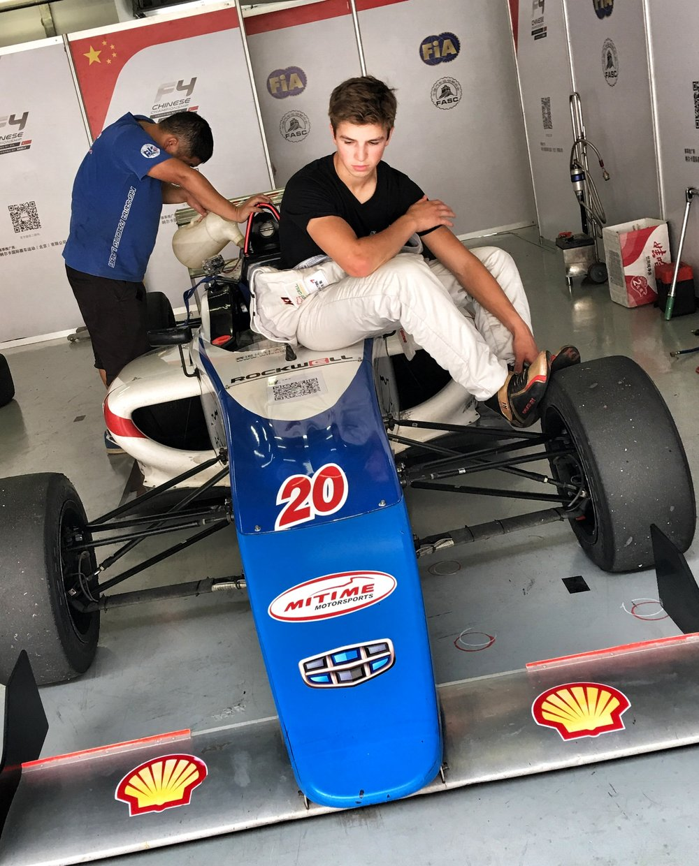 Bruno Carneiro. 2016 FIA F4 Chinese Championship, Shanghai, China.