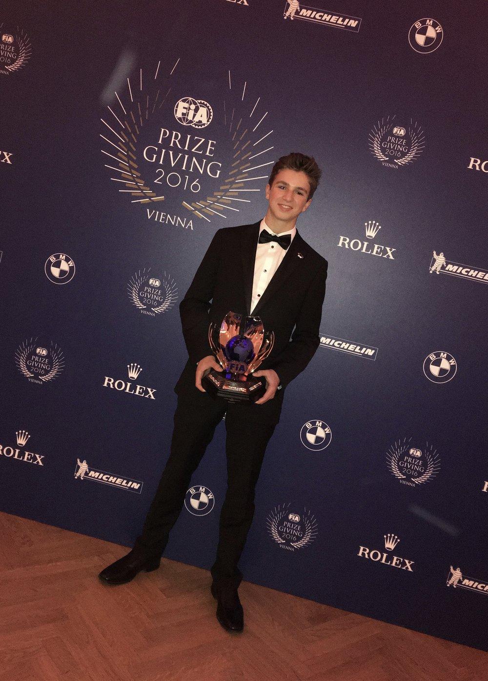 Bruno Carneiro FIA 2016 Prize Giving Gala