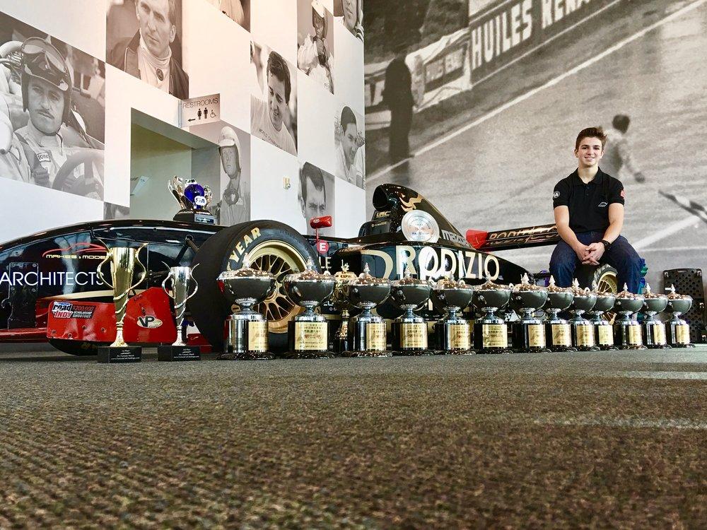 Bruno Carneiro's 2016 Trophies