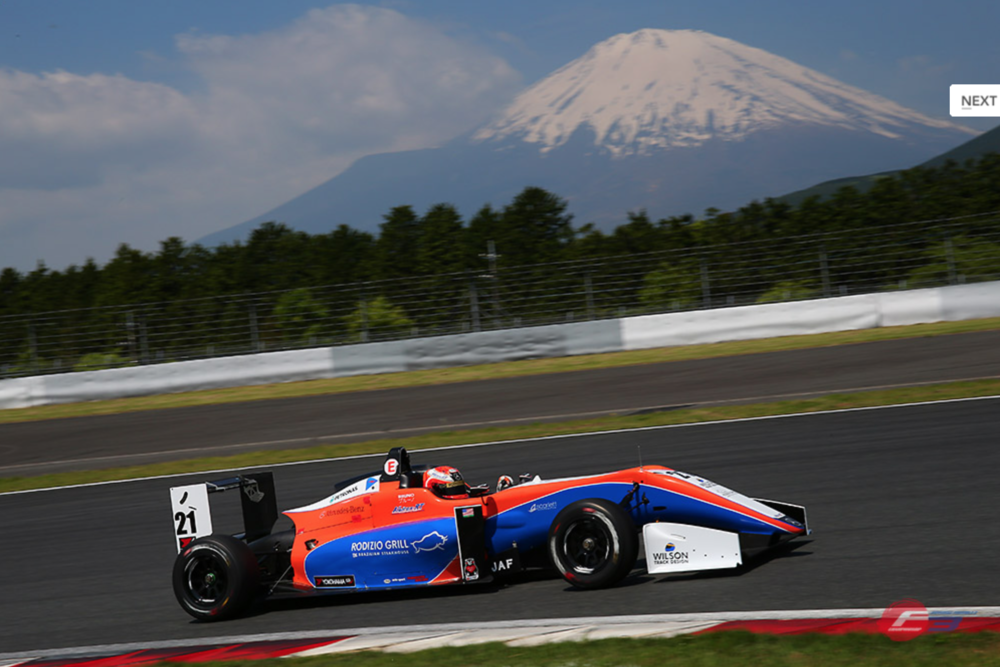 Bruno Carneiro(17) achieved great results in Suzuka and Fuji and collected the first point for AlbirexRT in the 2017 All Japan F3 Championship! Suzuka: Two 7th Place finishes at the challenging and fast Suzuka Circuit, were the signal that both Bruno Carneiro and the AlbirexRT were knocking at the door of Top6 points paying positions. The young rookie driver made very mature races and incredible passes bringing home the best results of the season at that point. Fuji: With the F3 cars reaching Top Speeds of 257 Km/h (160 mph), Fuji Speedway is sorrounded by outstanding hills and mountains and of course the famous Mount Fuji, right next to the charming city of Gotemba in Japan. The season has been a constant progress for both rookie driver Bruno Carneiro and his team AlbirexRT, which started using the Dallara F315 only a few months ago, a car that is vastly different than the F308 that the team has used in the past. But each weekend have brought more learning and results with with three P12 finishes in Okayama, two P7 finishes in Suzuka and a P6 and a P7 in Fuji, awarding Bruno Carneiro his first point in the extremely competitive Japanese F3 Championship. Race 1 in Fuji was a downpour. Bruno started P11 and working his way thru the field, finished the race in P6 after fantastic battles with very talented racers like Ritomo Miyata (Tom's Racing Dallara - Toyota F316), 2016 Japanese F4 Champion. Race 2 was in dry conditions and starting P10, Carneiro fought his way to a another 6th Place finished, but after being blocked by a back marker on the final lap, lost P6 to Ai Miura (Exedy Dallara-Volkswagen F315) and completed the race in 7th Place.