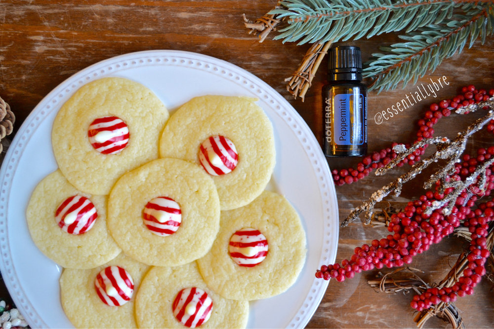 Peppermint Essential Oil Cookies This Dainty Life