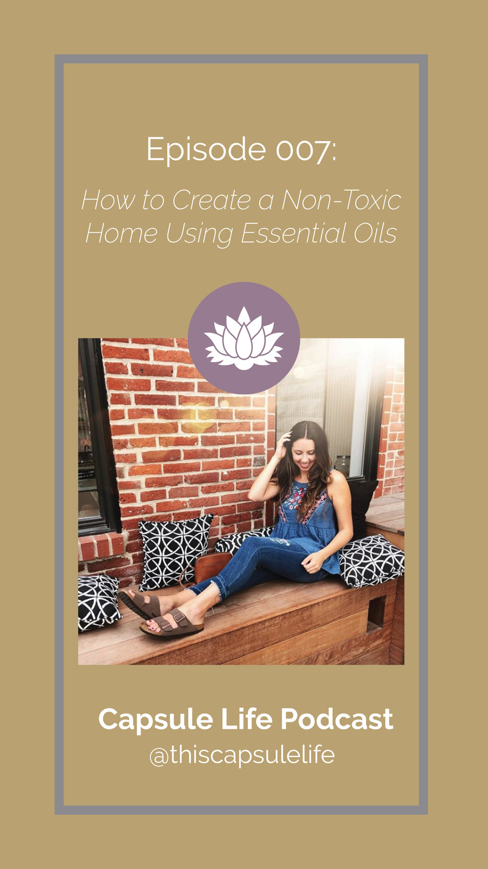 How to create a non-toxic home using essential oils with special guest Janelle Settle