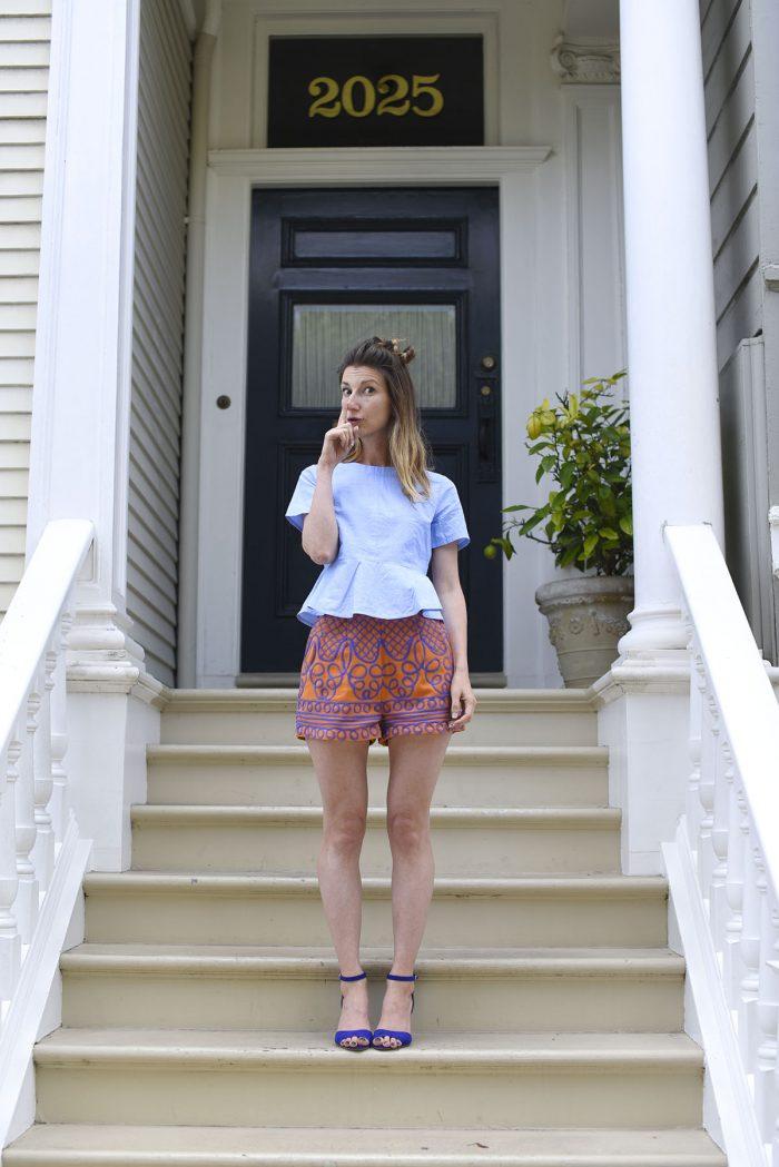 01-HM-embroidered-shorts-orange-purple