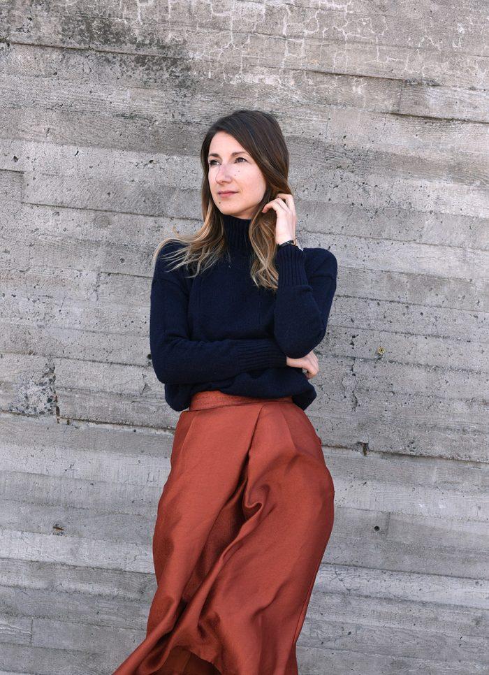 HMOrange-skirt-pants-hmootd-1