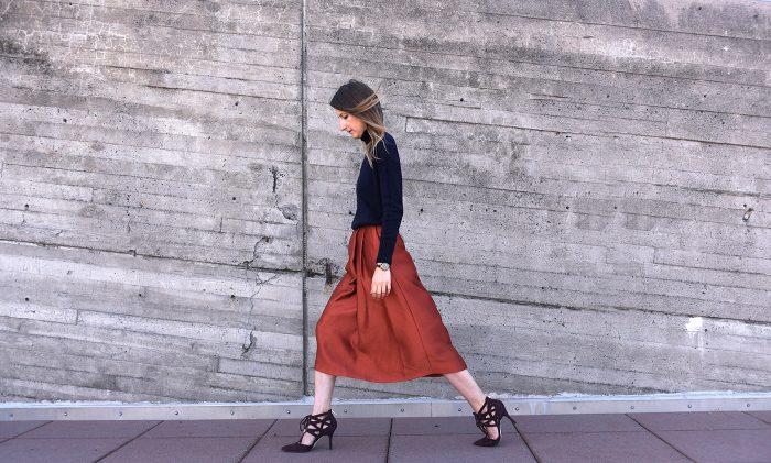 HMOrange-skirt-pants-hmootd-2
