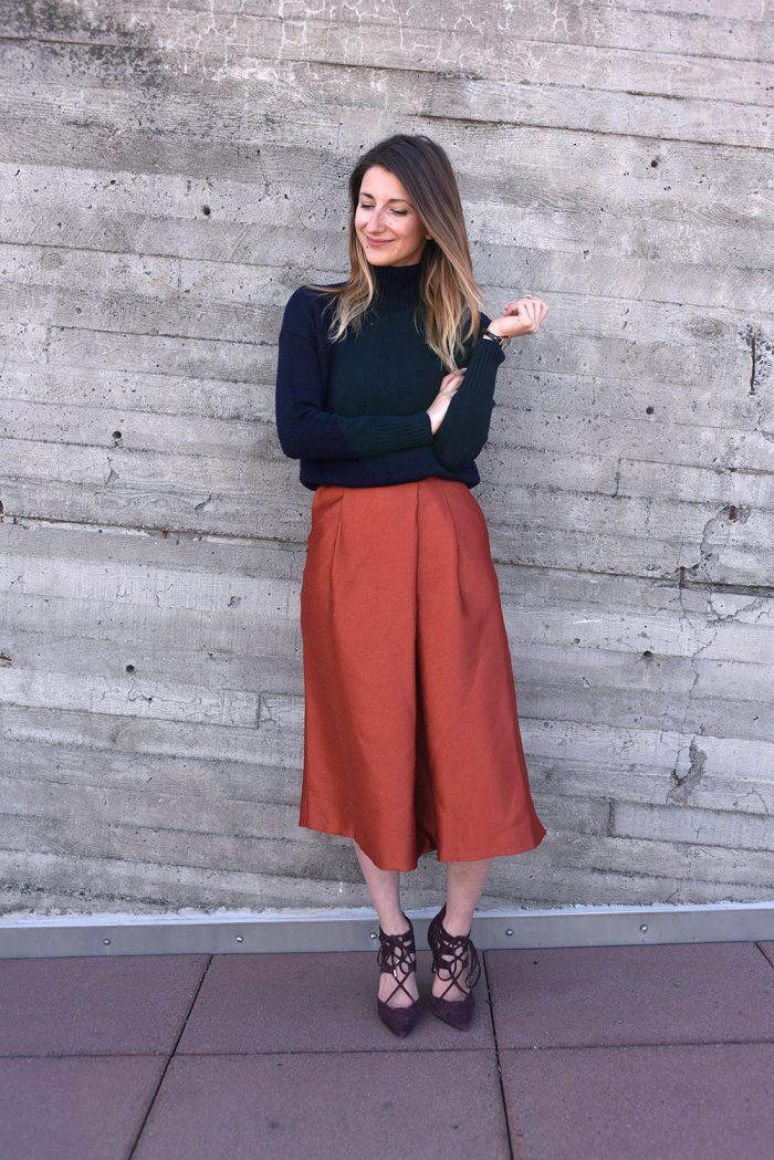 HMOrange-skirt-pants-hmootd-3