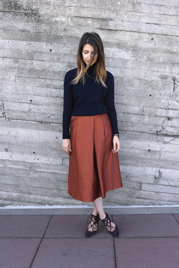HMOrange-skirt-pants-hmootd-4