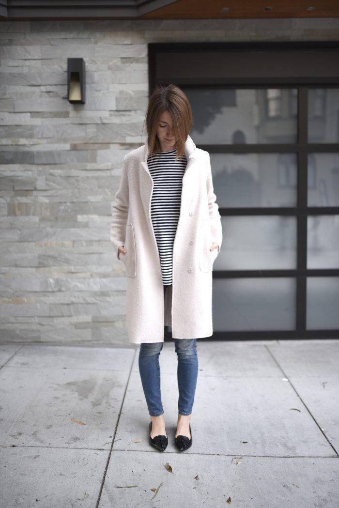 blush-pink-wool-coat-strip-shirt-2
