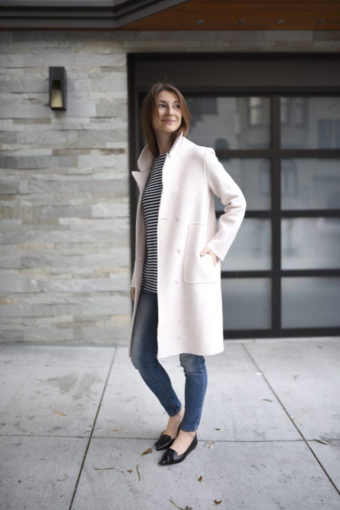 blush-pink-wool-coat-strip-shirt