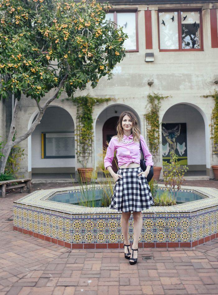 Gingham-Scuba-Skirt-Mix-Pattern-5