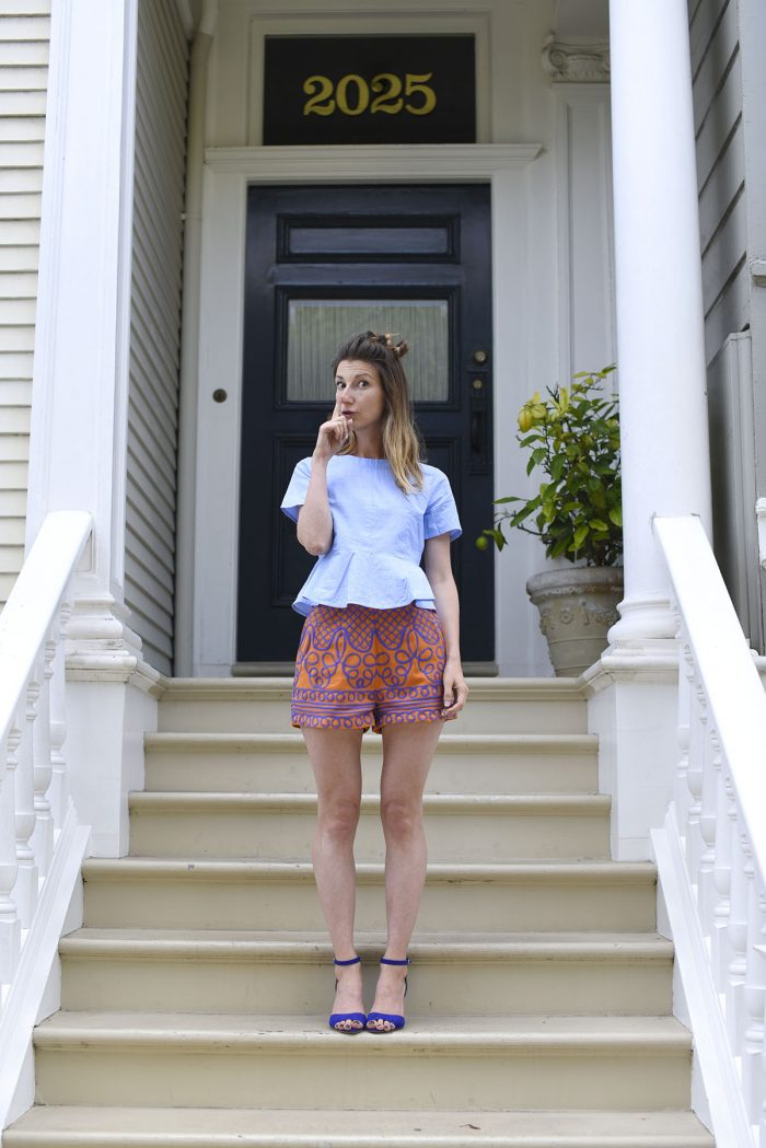 01-HM-embroidered-shorts-orange-purple