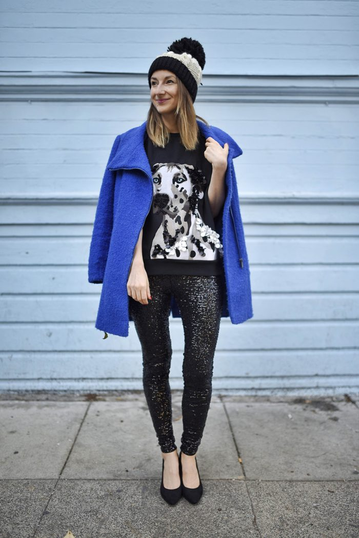 sequin-leggings-dog-hm-Sweatshirt