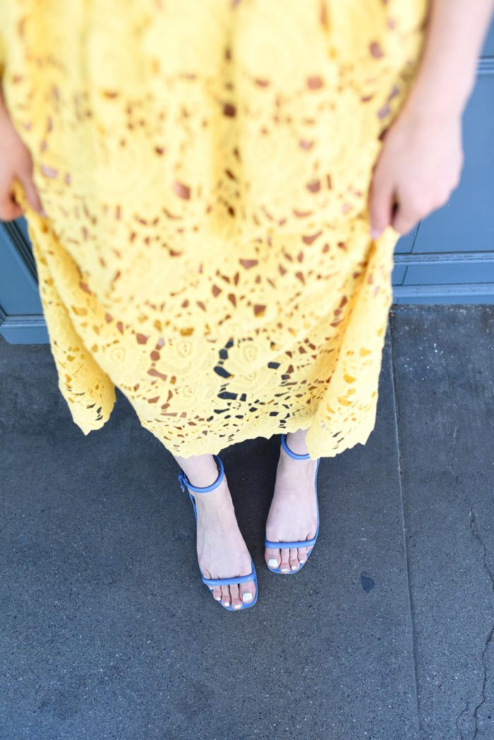 hm-yellow-lace-dress2016-zarasandals-3