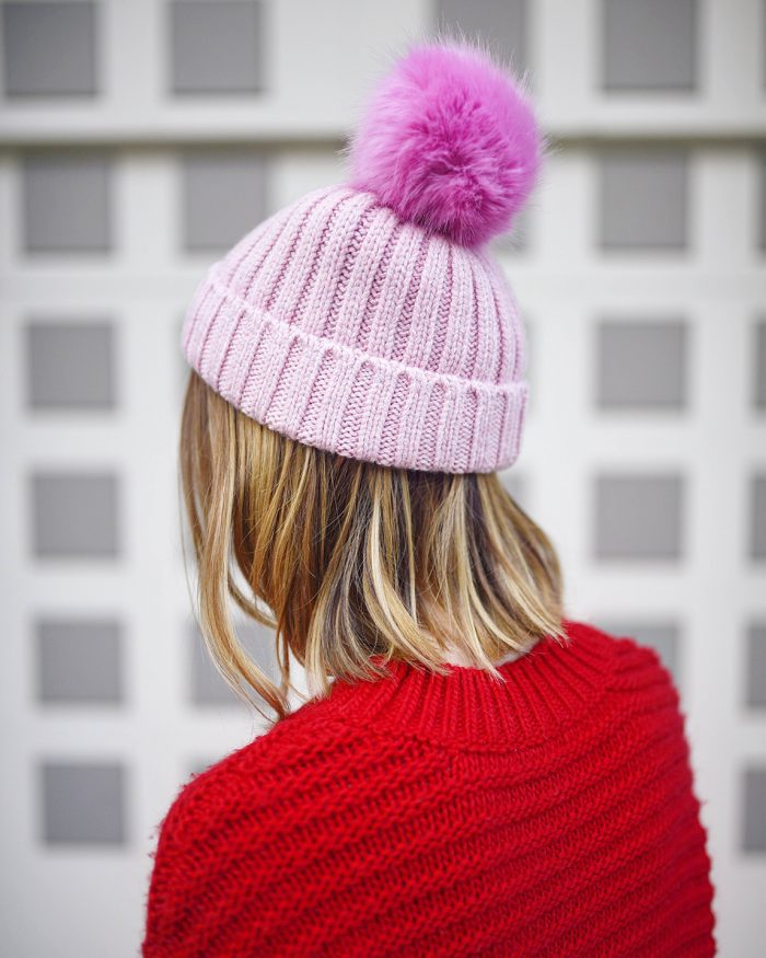 all-red-outfit-jcrew-pink-pompomhat-3