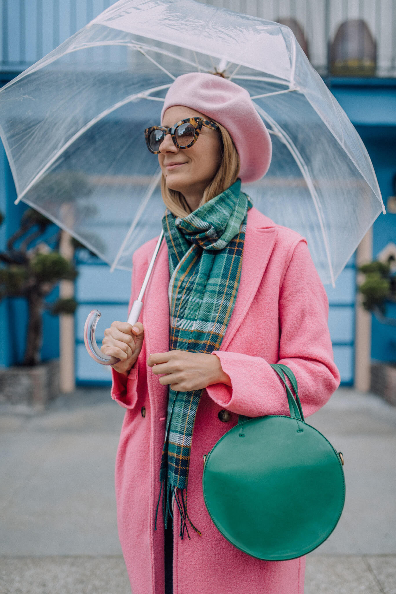 f67aee6d68b J.Crew Daphne Topcoat In Pink Outfit — zory mory
