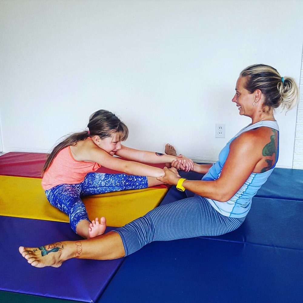 Fun & Tumble Gymnastics is always a great way to get your child learn to love to move.
