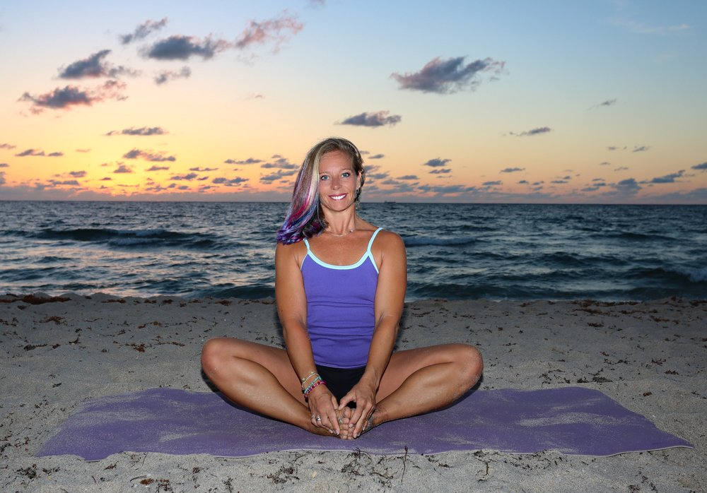 Little Buddhas Yoga Owner/Director/Teacher/Mentor, Mary E. Wright. Photo Credit: Amanda Patten with True North Takes Photography