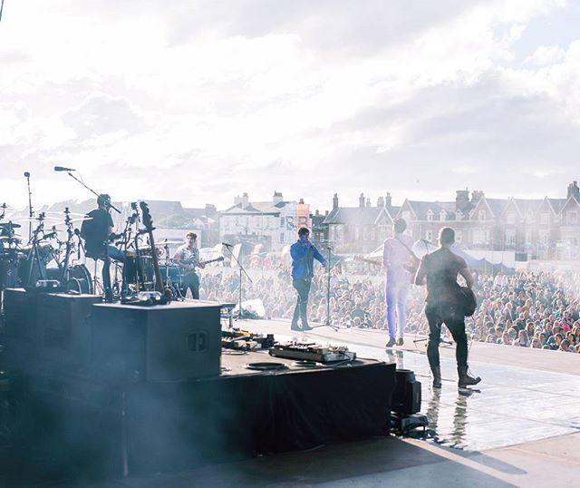 Cant wait to be back on this stage at @lythamfestival tomorrow night supporting the legendary Madness! 😀 #lythamfestival #madness