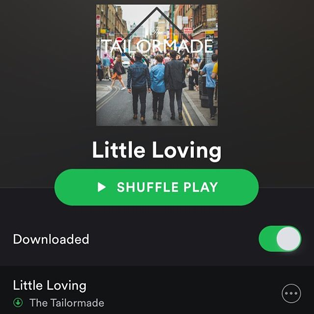 "Our brand new EP ""Little Loving"" is out now on Spotify and ITunes!! Link in bio!!"