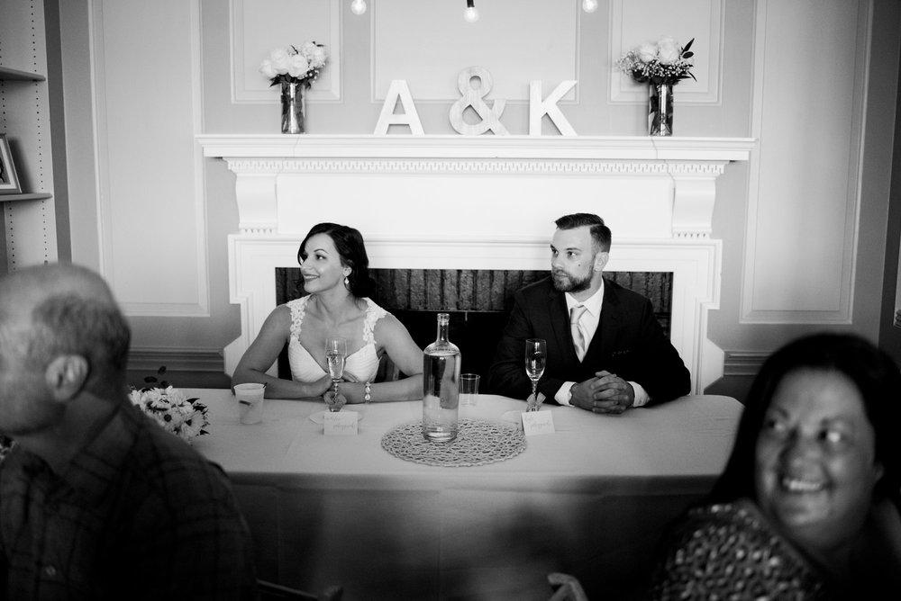 Seated Couple