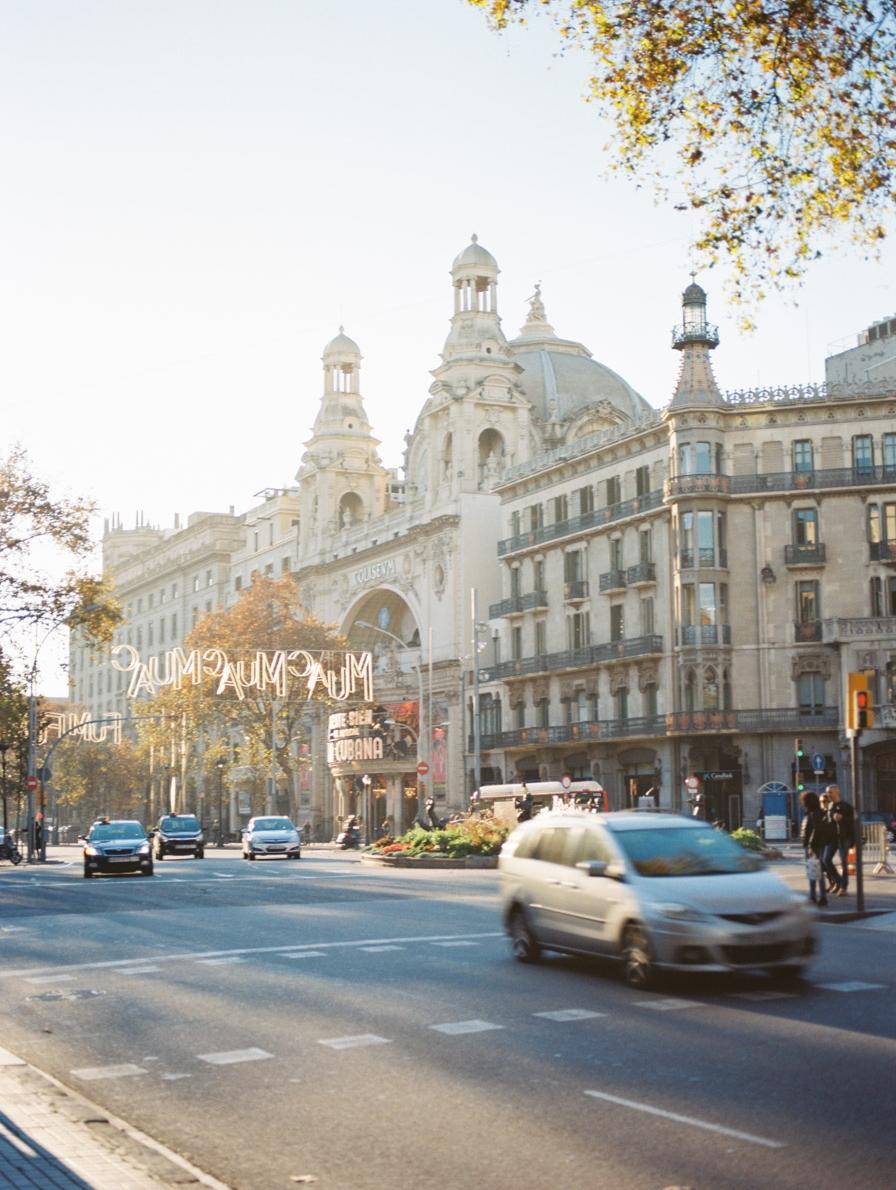 Busy Barcelona