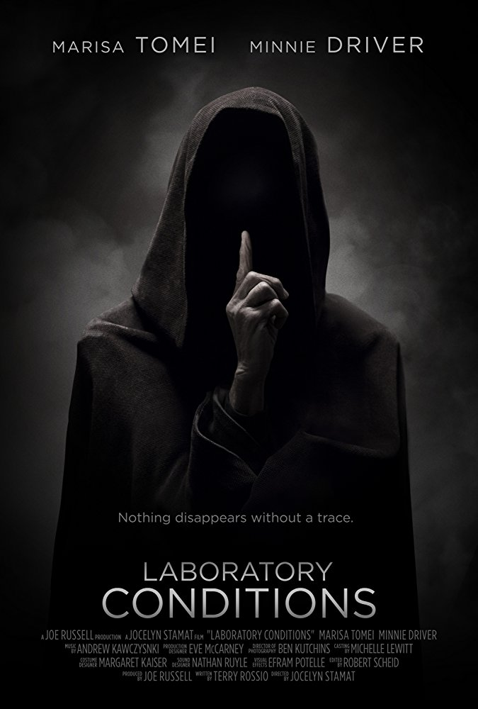 Laboratory Conditions  (2017) Directed by Jocelyn Stamat Music by Andrew Kawczynski